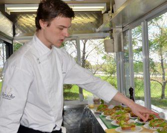 Cuisinier en action